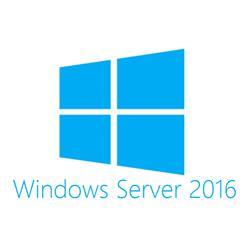 Image of HEWLETT PACK MICROSOFT WINDOWS SERVER 2016 1 USER CAL